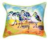 Sanderlings Birds 16 x 20 Inch Large Indoor Outdoor Pillow Betsy Drake Design