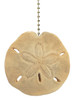 Coastal Sand Dollar Decorative Ceiling Fan Light Pull 3 Dimensional