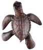 Cast Iron Nautical Tropical Ocean Reef Sea Turtle Figurine