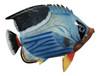Big 12 Inch Tropical Fish Saddlefish Tiki Sea Life Bath Wall Decor 12TFW07