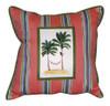 Tropical Palm Tree Indoor Outdoor Pillow