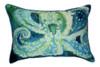 Ocean Reef Octopus Indoor Outdoor Pillow 16 X 20 Made in the USA