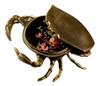 Chesapeake Bay Maryland Blue Crab Trinket Box Lift Off Lid