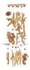 Seahorse Starfish Seashells Wind Chimes Garden Decor