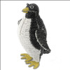 Arctic Penguin Glass Beads and Wire Nursery Sculpture