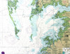 Chesapeake Bay Map Large 54 Inch Kitchen Dining Room Table Runner Betsy Drake
