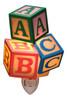 Childrens Toy Blocks ABC's Baby Nursery Night Light