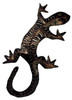 Gecko Lizard Wall Sconce Electric Light Metal Laser Cut
