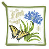 Alice's Cottage Yellow Monarch Butterfly Kitchen Potholder