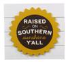 Raised on Southern Sunshine Yall Paula Deen Tapletop Box Sign Wood