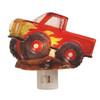 Red Monster Truck Mud Bog Boys Room Night Light Acrylic Electric