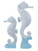 Beachcombers Seahorses Riding Waves Tabletop Figurines Set of 2 Resin