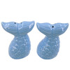 Blue Mermaid Tails Salt and Pepper Shaker Set 2.5 Inches