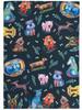 Allen Designs Dog Park Puppy Dogs Printed Kitchen Tea Dish Towel Cotton
