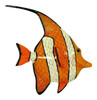 Orange Nemo Clown Fish Wall Decor 12 Inches 12ANGW38A Resin
