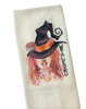 Wicked Witch Halloween Microfiber Waffle Weave Kitchen Dish Towel