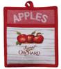 Apple Picking Sweet Orchard Kitchen Pocket Mitt