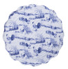 Blue Rooster Quilted Kitchen Dining Table Placements Set of 4