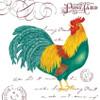 Farmhouse Rooster Flour Sack Kitchen Towel Cotton