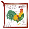 Farmhouse Rooster Kitchen Pot Holder Cotton