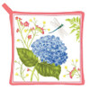 Blue Hydrangea Kitchen Pot Holder Cotton