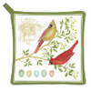 Cardinals on Tree Branch Kitchen Pot Holder Cotton