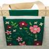 A Beautiful Day Begins with a Beautiful Mindset Green Market Tote Bag Reusable