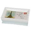 World Traveler Postage Stamp Eiffel Tower Bath Soap Dish
