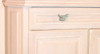 Shaped Green Bird Drawer Cabinet Pulls Dimensional Polystone 2.5 Inch Set of 4