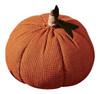 Tall Orange Burlap Fabric Stuffed Pumpkin 9 Inch Tabletop Decor Park Designs