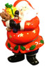 Jolly St. Nick Santa Christmas Hinged Trinket Box