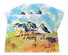 Sanderlings 17.5 x 12 Inch Kitchen Dining Room Placemats Set of 4 Betsy Drake