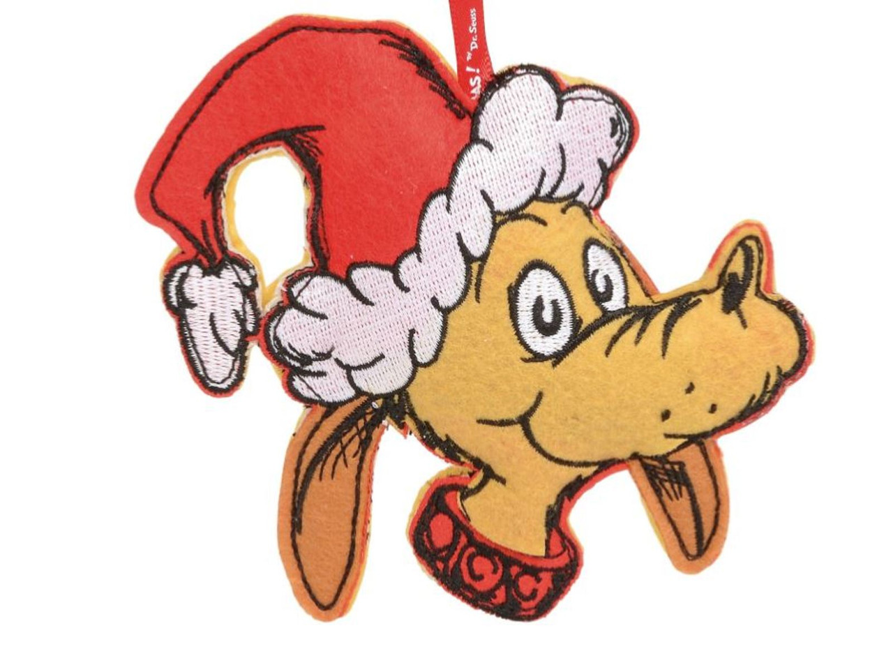 How The Grinch Stole Christmas 1966 Max.How The Grinch Stole Christmas Dr Seuss Max Dog Felt Holiday Ornament Licensed