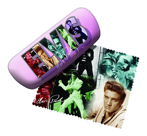 Elvis Presley Reading Glasses Case and Lens Cloth