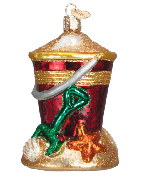 Old World Christmas Glass Blown Ornament The Throne 32281