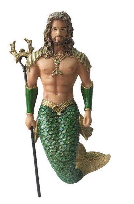 December Diamonds Atlantis Merman Christmas Holiday Ornament