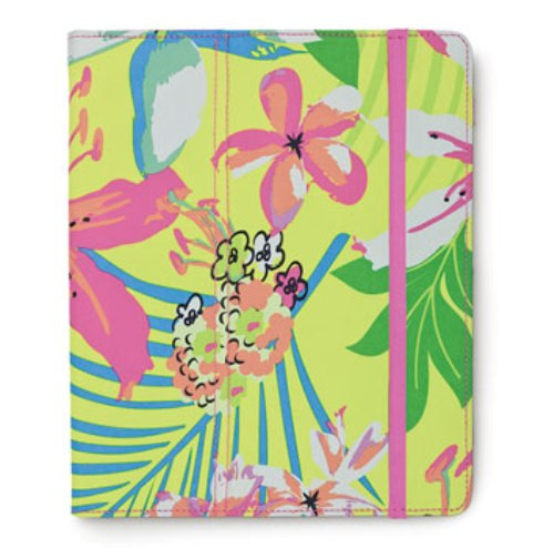 Island Oasis Tropical Flowers Ipad Tablet Case