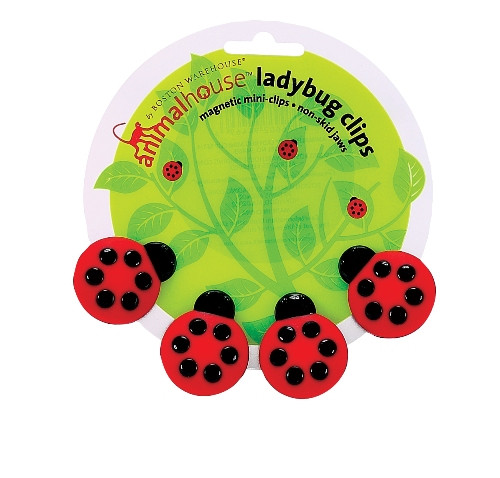 Ladybug Magnetic Mini Chip Clips Kitchen Tool Animal House Boston Warehouse