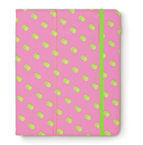 Citrus Dot Bold Print with Lime Green Polka Dots Ipad® Tablet Case
