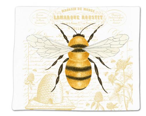 Alice's Cottage Honey Bee Flour Sack Kitchen Towel 36 Inches