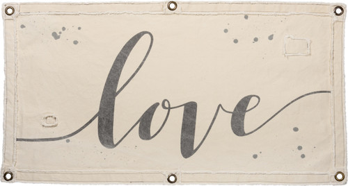 Primitives by Kathy Love Canvas Wall Banner Decor 40 Inches