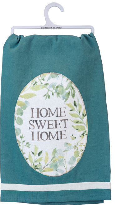 Primitives by Kathy Home Sweet Home Kitchen Dish Towel 28 Inches