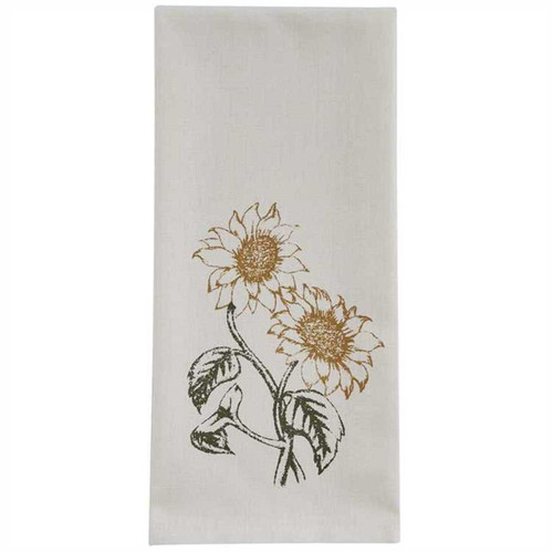 Park Designs Double Sunflower Kitchen Dish Towel