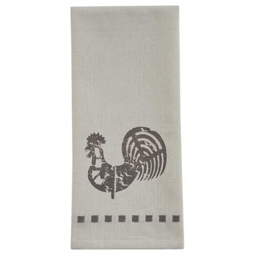 Park Designs Folk Rooster Decorative Kitchen Dish Towel