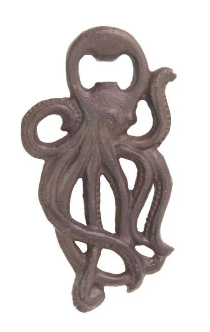 Octopus Ocean Animal Bottle Opener Handheld Cast Iron