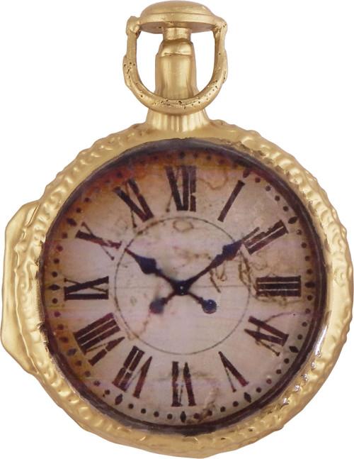 Christmas by Krebs Grandpas Pocket Watch Vintage Style Holiday Onament Glass