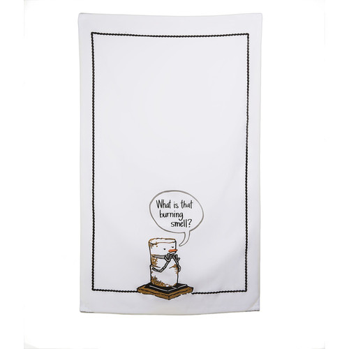 Toasted Smores Whats That Burning Smell Kitchen Tea Towel