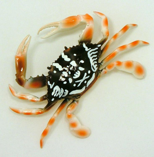 Six Inch Mountain Crab Wall Decor Lightweight Polyresin Plastic