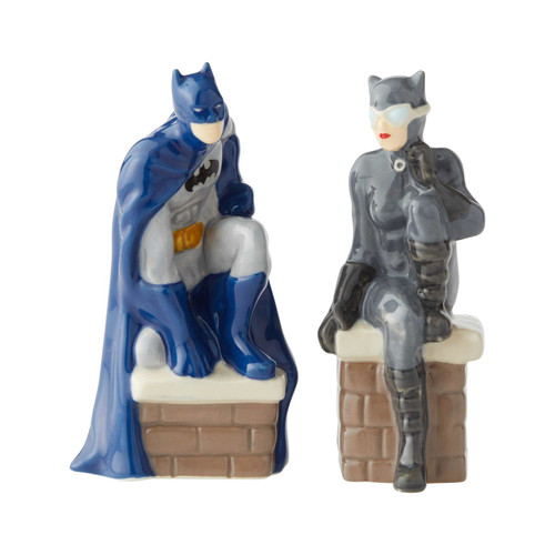 Batman and Catwoman Salt and Pepper Shaker Set Licensed