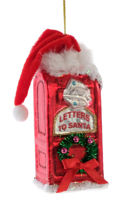 Christmas Mailbox Letters to Santa Christmas Holiday Ornament